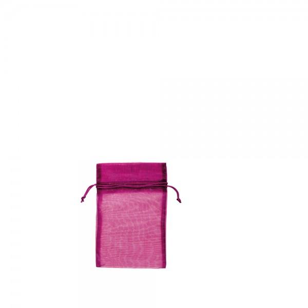 Organza Säckchen 9 x 12 cm - pink