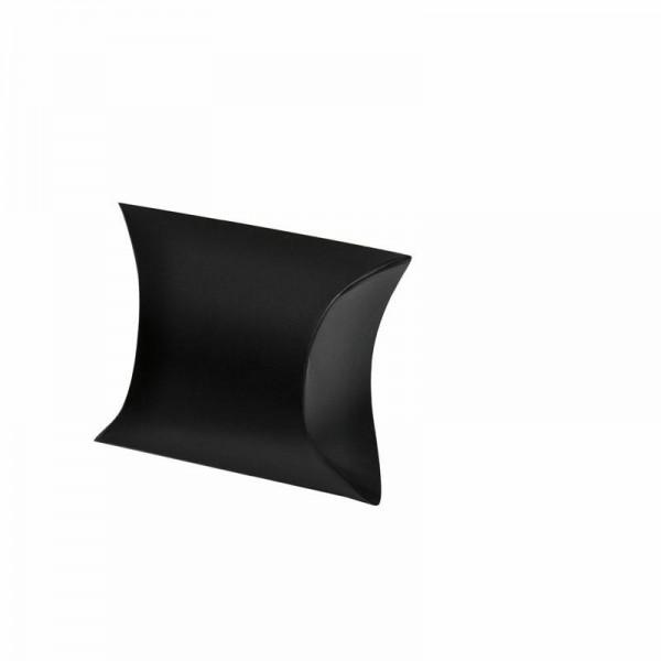 Kissentaschen uni schwarz klein 7x3.5x5 cm