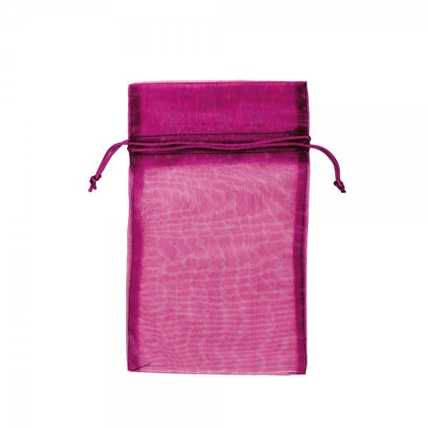 Organza Säckchen 15 x 25 cm - pink