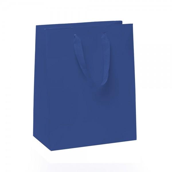 Kordel Tragetaschen 18x10x22,7+4cm blau