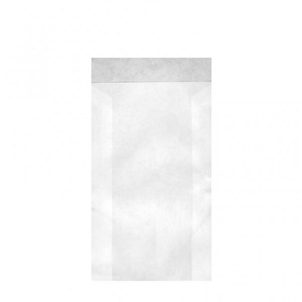 Zweinaht-Flachbeutel Typ 710 11.5x16+2 cm