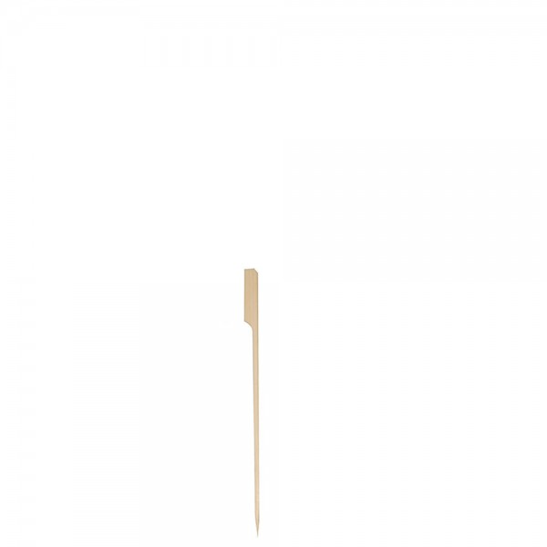 """Fingerfoodspieß """"Flag"""" 12 cm / Ø 0,3 cm"""