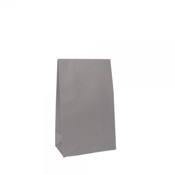 Geschenktasche 14x8x23+5,5cm grau