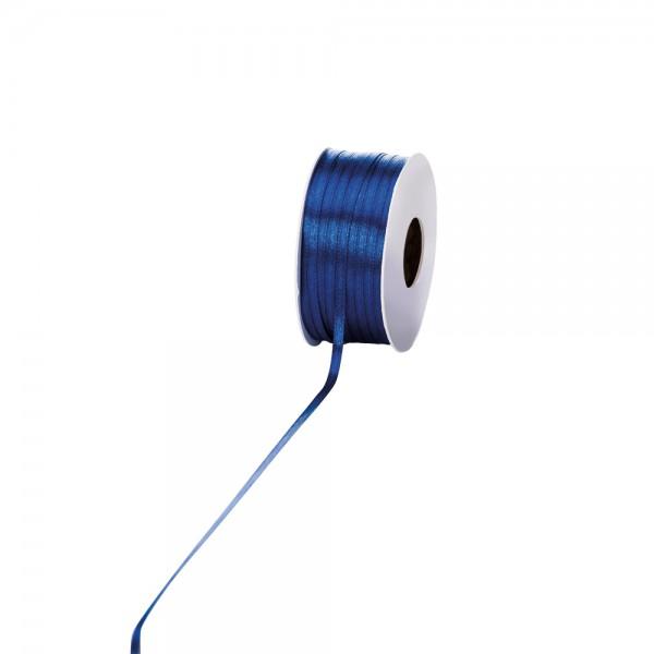 Satinband 3mm 100Meter Dunkelblau