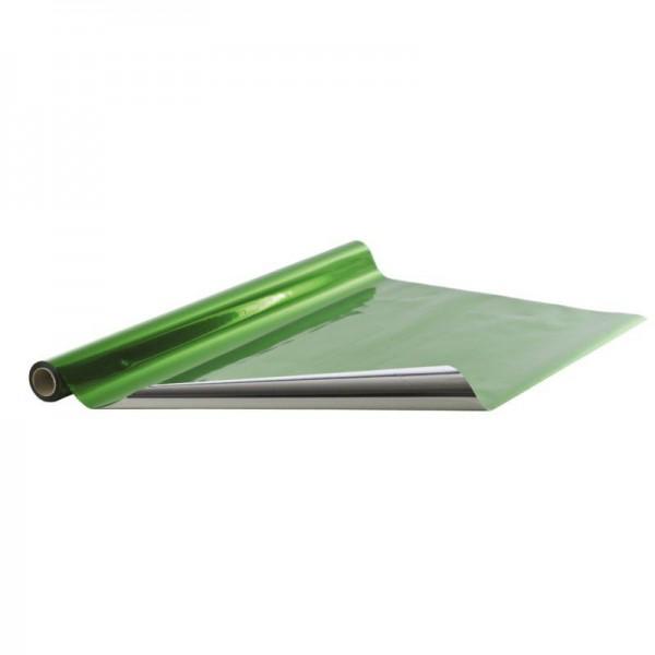 Geschenkfolie Rolle 70cm 25 Meter grün
