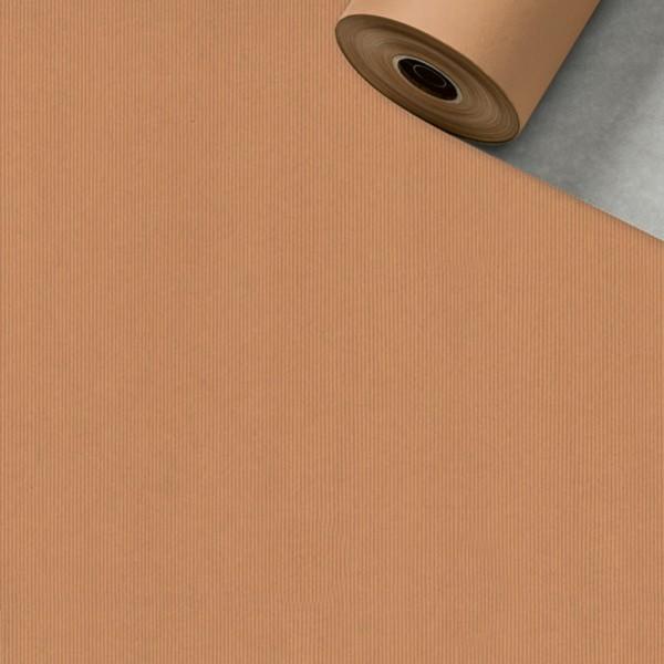 Geschenkpapier Rolle 50cm 250Meter silber/kupfer