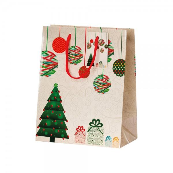 Tragetaschen Christmas Mood 18x10x23 cm