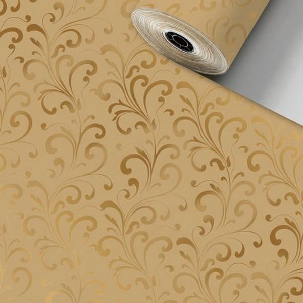 Geschenkpapier Rolle 50cm 50Meter Baroa braun