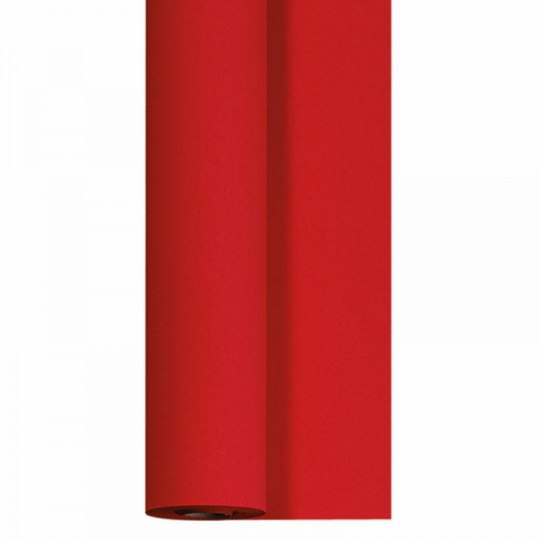 DUNI Tischtuch Rolle Dunicel 1,18 x 25 Meter rot