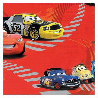 Geschenkpapier-Rolle 50cm 50Meter Disney Cars