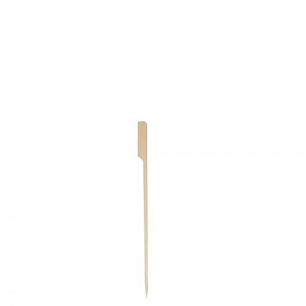 """Fingerfoodspieß """"Flag"""" 14 cm / Ø 0,3 cm"""