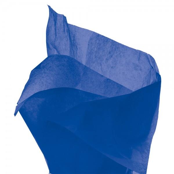 Seidenpapier Bogen 50x76 cm blau