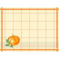 DUNI Tischset Papier 30x40 cm Pumpkin Spice