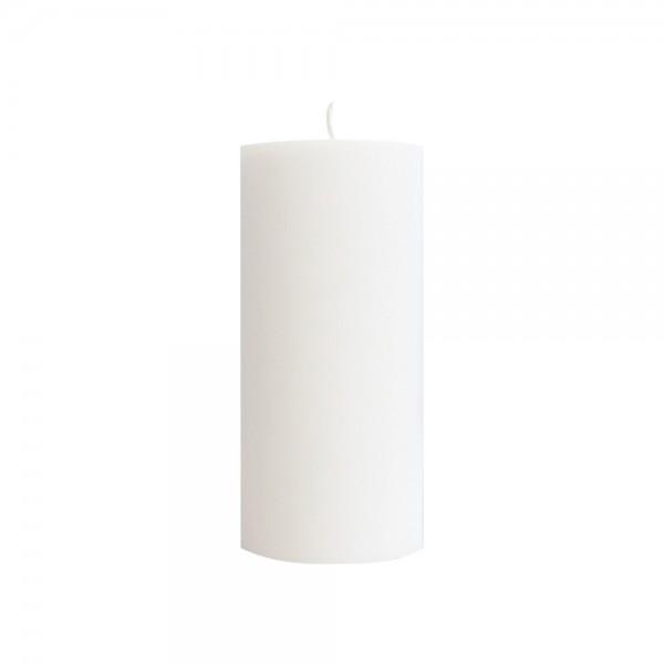 DUNI Stumpenkerze 100% Stearin 150x70mm Weiß