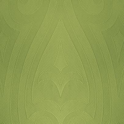 DUNI Elegance Serviette 48x48 cm 1/4F. Lily herbal green