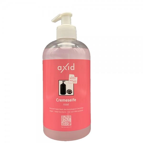 axid Cremeseife rosé 500ml Pumpspender