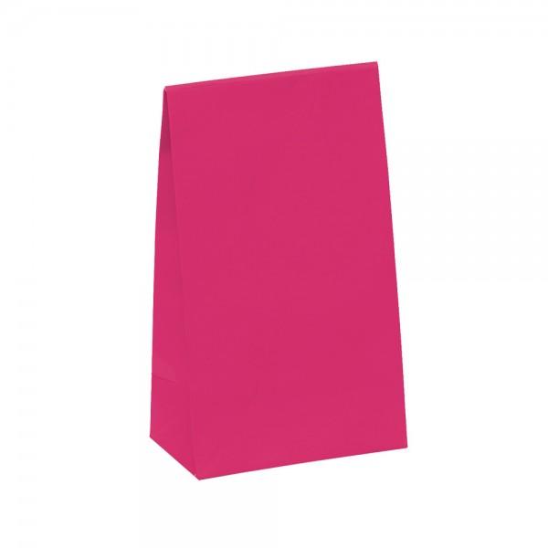 Geschenktasche 14x8x23+5,5cm pink