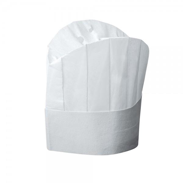 Kochmützen weiß verstellbar