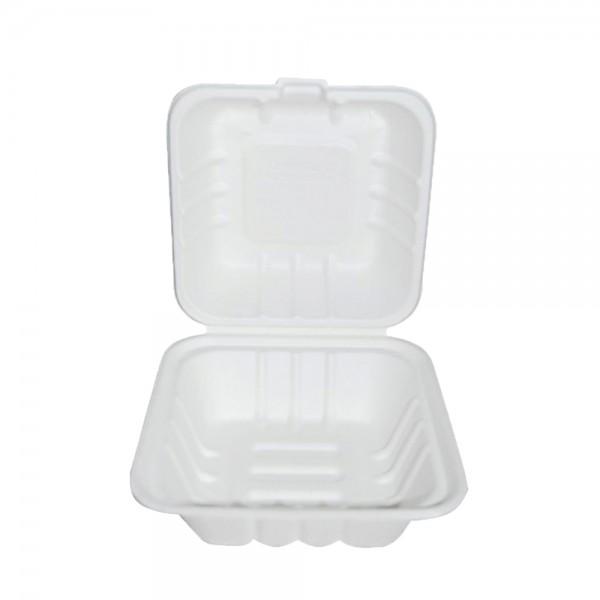 Bio Hamburger-Boxen ungeteilt 17 x 12,5 cm