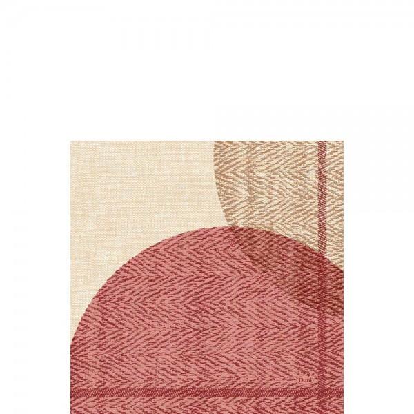 DUNI Zelltuch Serviette 33x33 cm 1/4F. Gravito