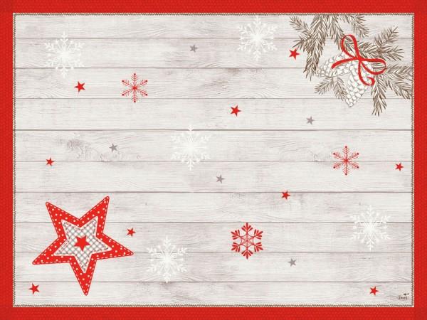 DUNI Tischset Dunicel 30x40 cm Cozy Winter