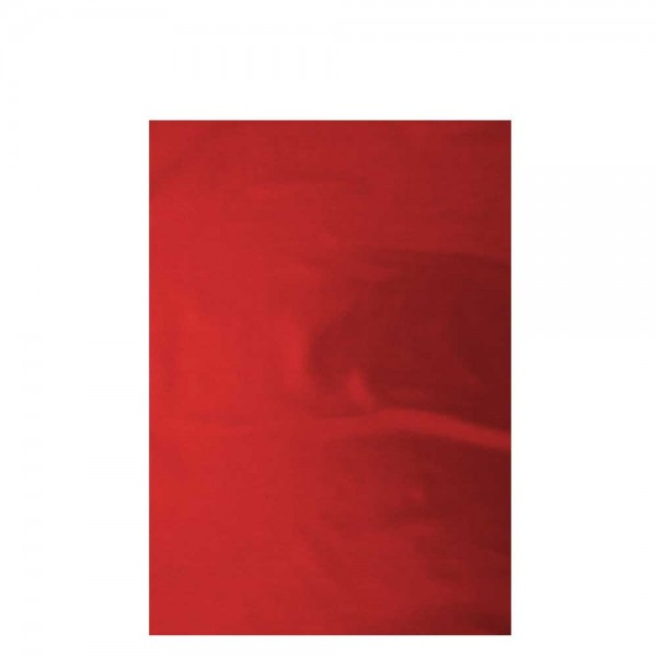 Flachbeutel metallic Folie 35 x 50 cm Rot