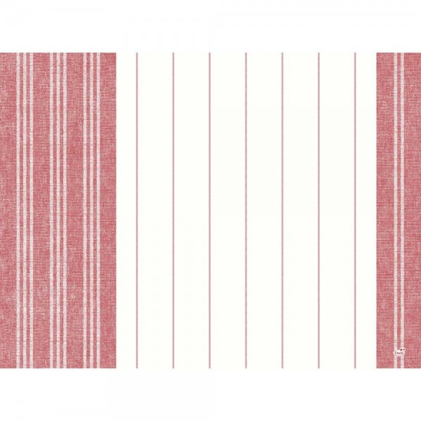 DUNI Tischset Dunicel 30x40cm Towel Rot