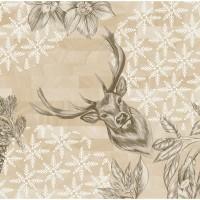 DUNI Klassik Serviette 40x40 cm 1/4F.Wild Deer