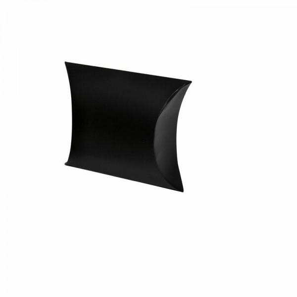 Kissentaschen uni schwarz groß 11x5x9.5 cm
