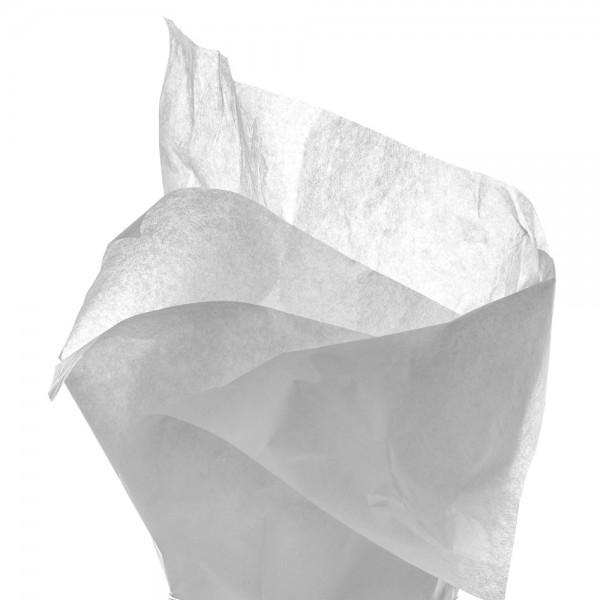 Seidenpapier Bogen 50x76 cm grau