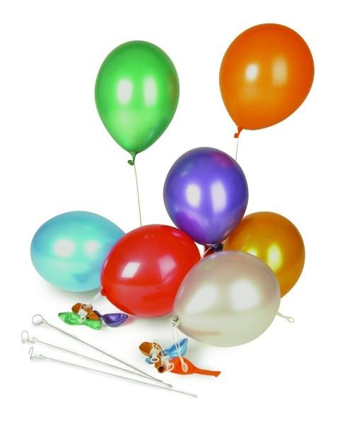 Luftballon metallic gold
