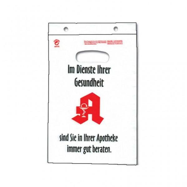 APOTHEKEN Griffloch Tragetaschen 25x35+3cm