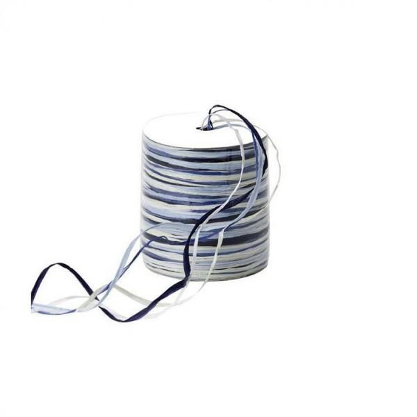 Raphia Multi Rolle 50Meter blau
