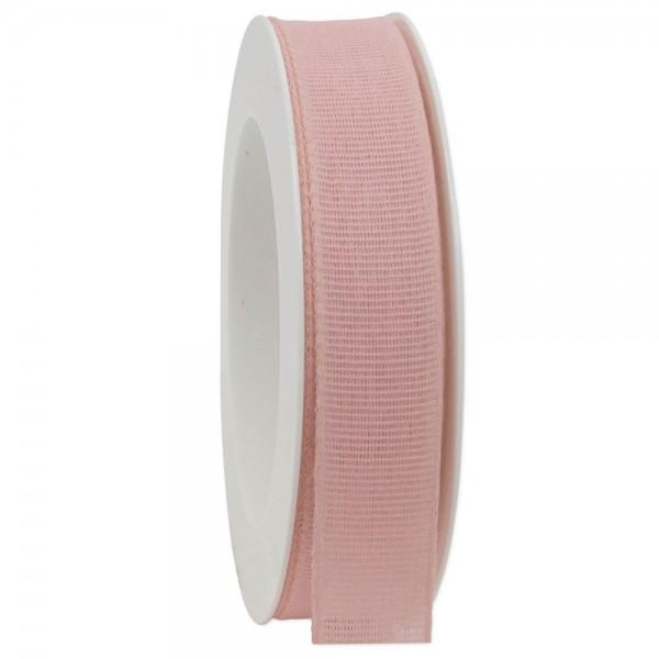 Leinenband biologisch abbaubar 25mm/20Meter Spring Rosa
