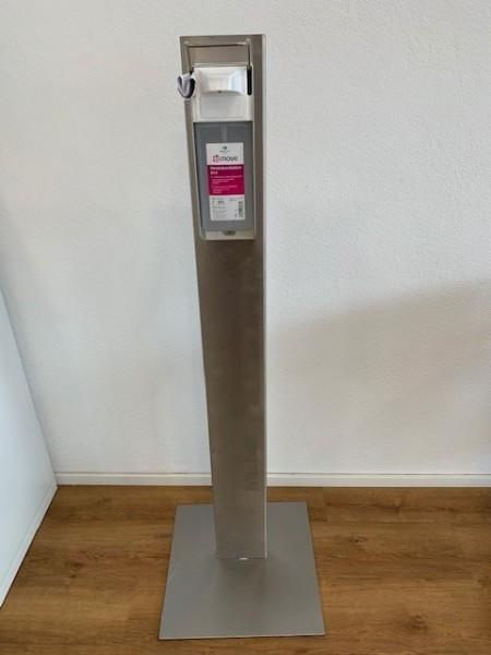 Hygiene Säule Edelstahl poliert ca.1.25m hoch