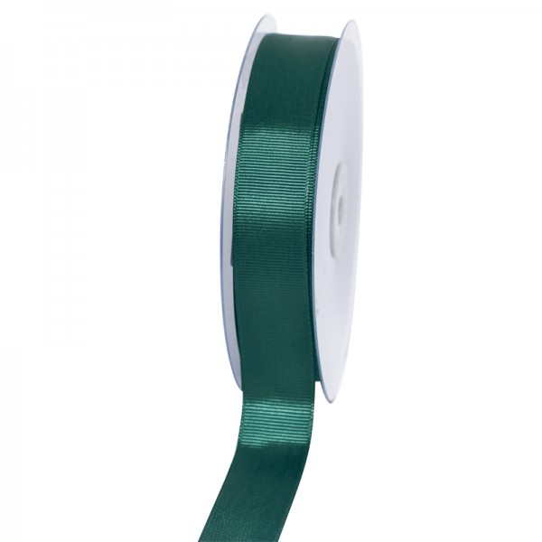 Geschenkband Grosgrain 25 mm/50Meter jägergrün