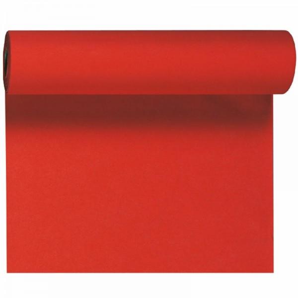 DUNI Tete-A-Tete Tischläufer Dunicel Rot