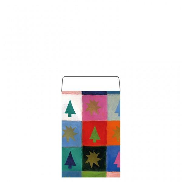 Geschenkflachbeutel Chris 7,9x11+1,5cm
