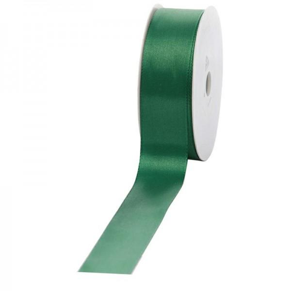 Geschenkband Stoff 40mm / 50Meter grün