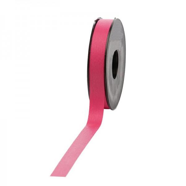 Polyband matt 16mm 45Meter pink
