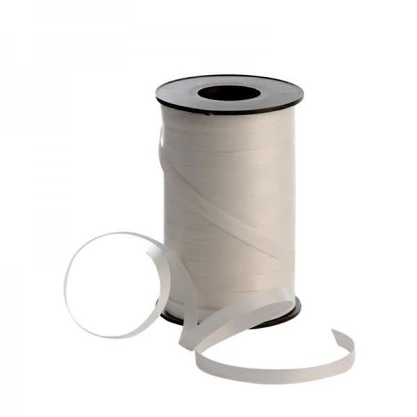 Polyband matt 7,5mm 180Meter weiß