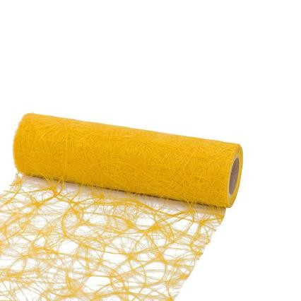 Dekovlies Sizoweb 30cm 25Meter gelb