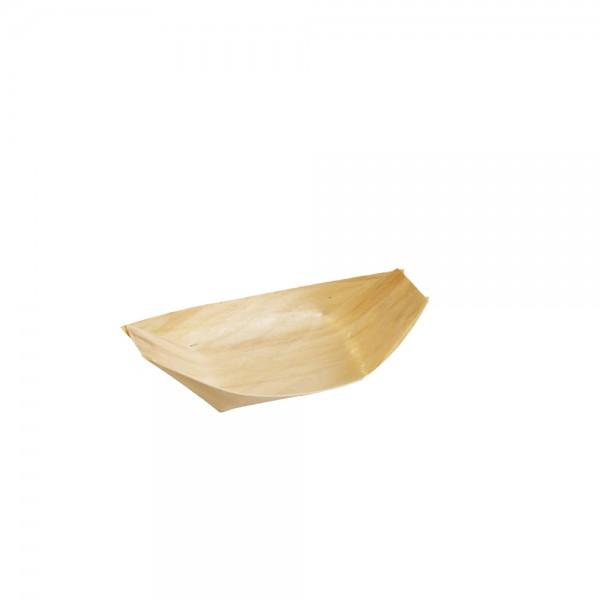 Holzschiffchen aus Pinienholz 6,5 x 4,2 cm