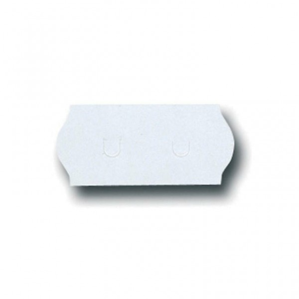 Geräte-Etiketten für S 26 26x12mm weiß lösbar