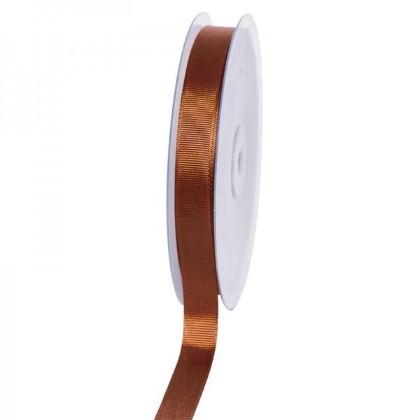 Geschenkband Grosgrain 16 mm/50Meter braun