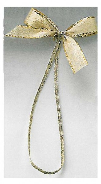 Fertigschleife gold Umband gold 20 cm