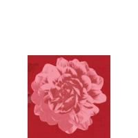 DUNI Zelltuch Serviette 24x24 cm 1/4F.Autumn Floral