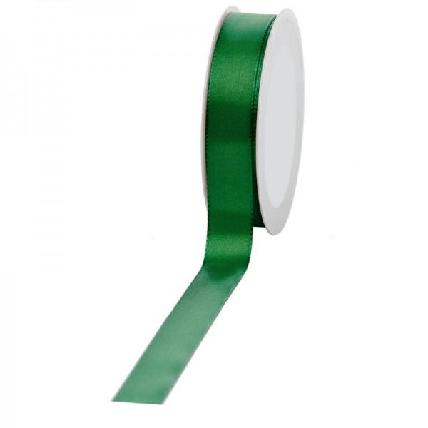 Geschenkband Stoff 25mm / 50Meter grün