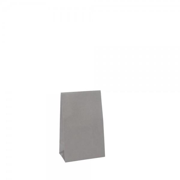 Geschenktasche 10x6x15,7+4,2cm grau