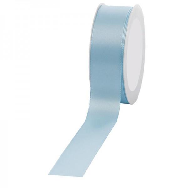Geschenkband Stoff 40mm / 50Meter hellblau
